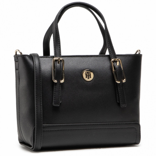 Kabelka TOMMY HILFIGER - Honey Small Tote AW0AW09656 BDS