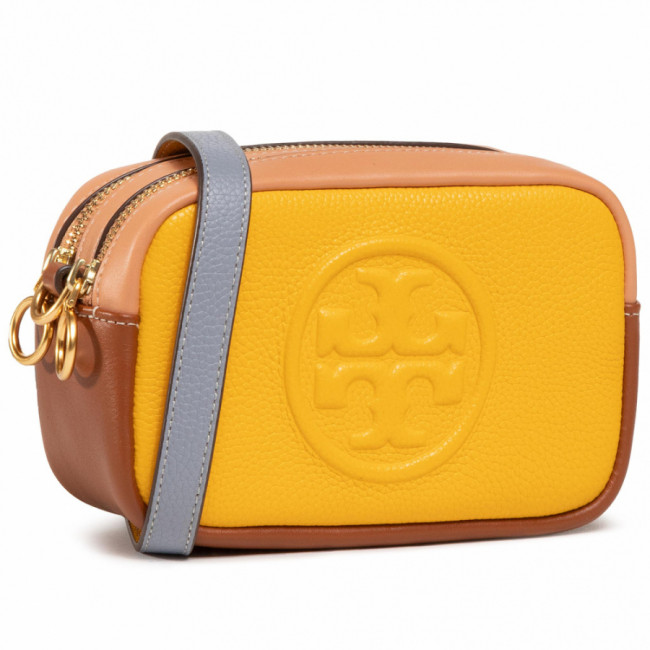 Kabelka TORY BURCH - Perry Bombe Color Block Mini Bag80578 Goldfinch 703