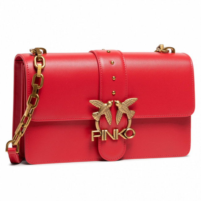 Kabelka PINKO - Love Classic Icon Simply 7 Cl. PE 21 PLTT 1P228G Y6XT Rosso Puro R43