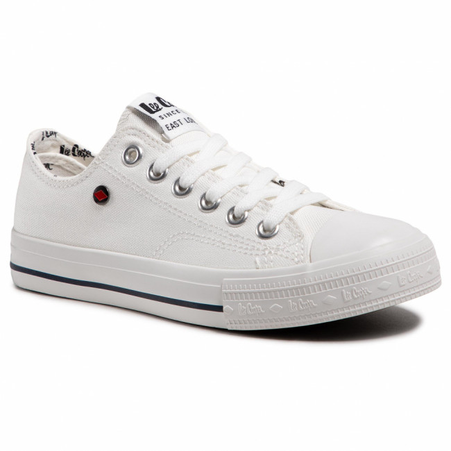 Tramky LEE COOPER - LCW-21-31-0091L White