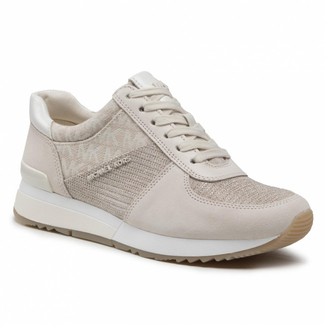 Sneakersy MICHAEL MICHAEL KORS - Allie Trainer 43R1ALFS4D  Champagne