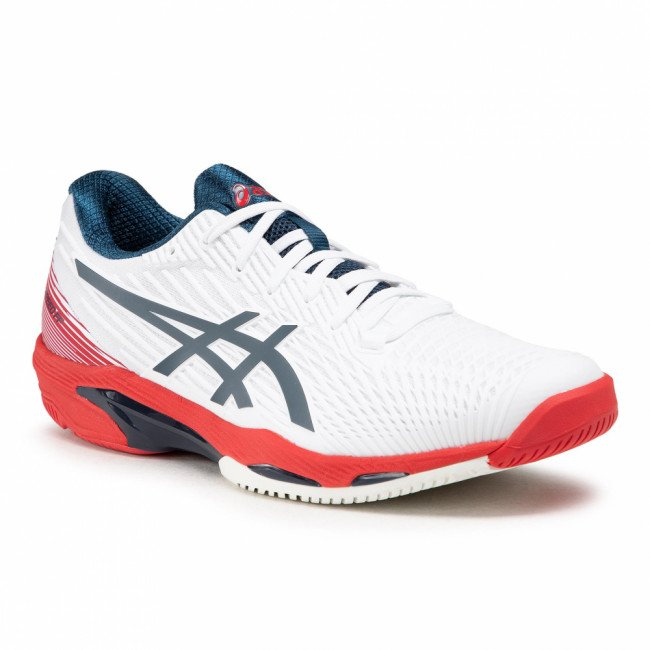 Topánky ASICS - Solution Speed Ff 2 1041A182 White/Mako Blue 101