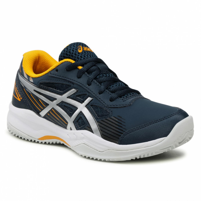 Topánky ASICS - Gel-Game 8 Clay/Oc Gs 1044A024 French Blue/Pure Silver 400