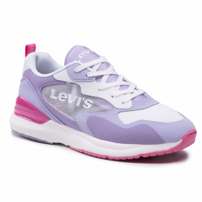 Sneakersy LEVI'S® - VFAS0011T White/Lilac