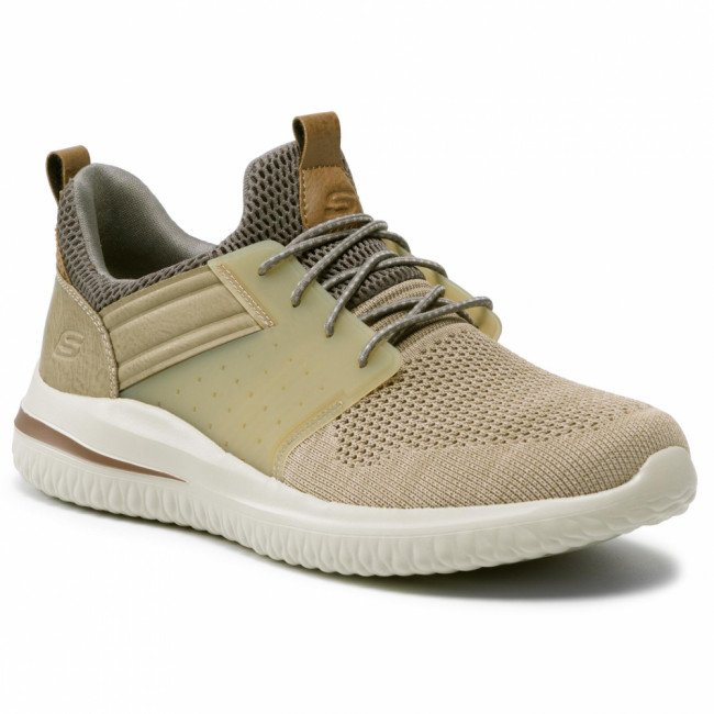 Sneakersy SKECHERS - Cicada 210238/TPE Taupe