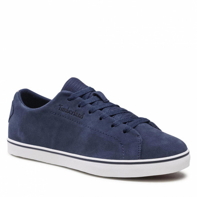 Sneakersy TIMBERLAND - Skatepark Leather Laceup TB0A3ZYB0191 Navy Suede
