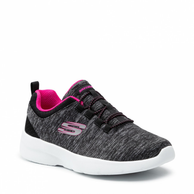 Topánky SKECHERS - In A Flash 12965/BKHP Black/Hot Pink