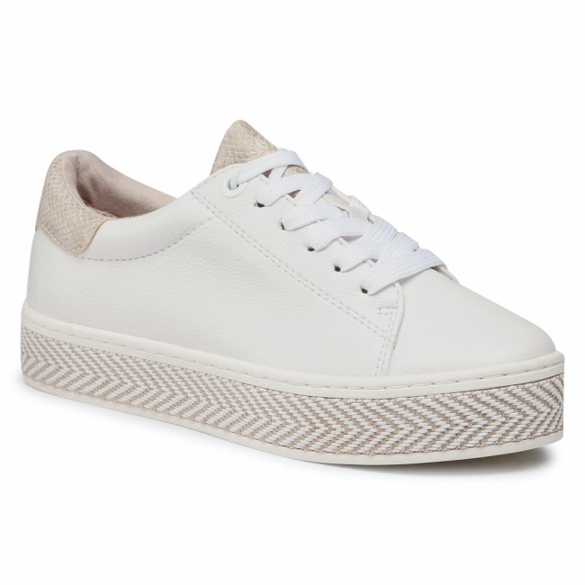 Sneakersy S.OLIVER - 5-23637-26 White Comb. 110