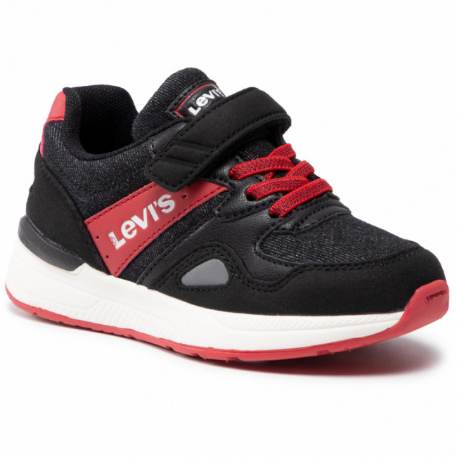 Sneakersy LEVI'S® - VBOS0030T Black/Red 0178