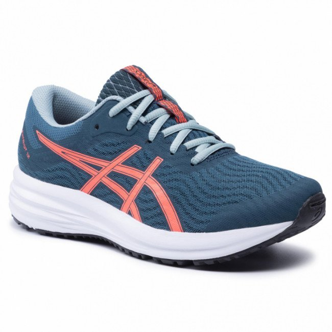 Topánky ASICS - Patriot 12 Gs 1014A139  Magnetic Blue/Sunrise Red 400