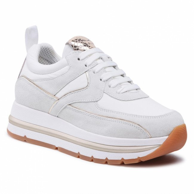 Sneakersy VOILE BLANCHE - Junee 0012015854.03.0N01 White