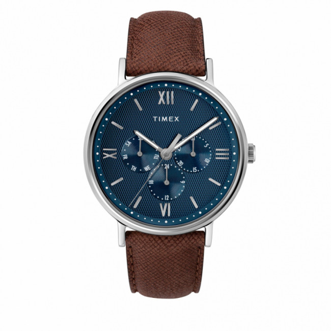 Hodinky TIMEX - Southview TW2T35100 Brown/Silver