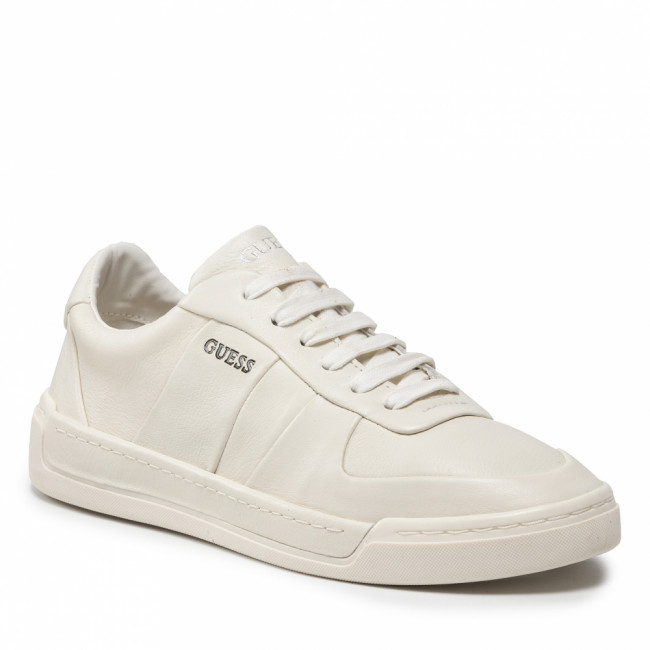 Sneakersy GUESS - Strave FM7STR LEA12 OFWHI