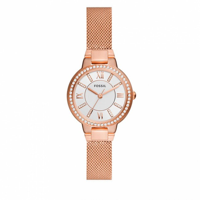 Hodinky FOSSIL - Virginia ES5111 Rose Gold/Silver