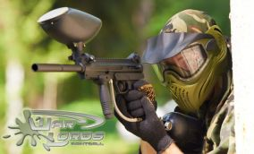 3 hodiny paintballu v hale Warlords v centre
