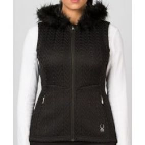 Spyder Women `s Major Cable Core Sweater vest