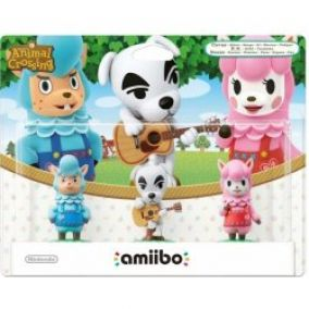 Nintendo amiibo Animal Crossing 3er Figuren-Set K