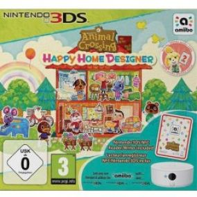Animal Crossing: Happy Home Designer + Card + NFC