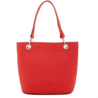 Magid Dámska taška Paper Straw Shopper Tote Red