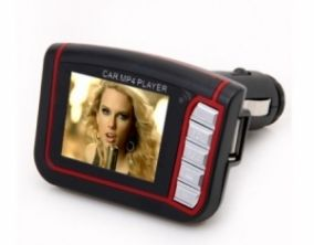 MP4 FM transmitter s 1,8'' TFT displejom