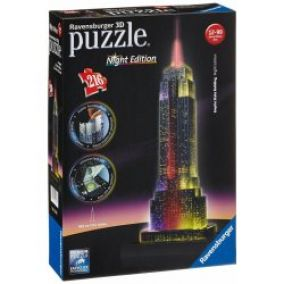 3D puzzle Ravensburger Empire State Building LED