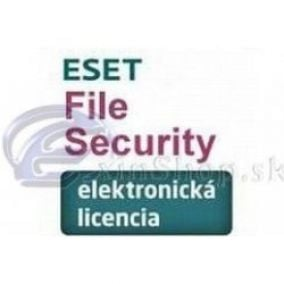 ESET NOD32 File Security WIN 2 lic. 12 měs.