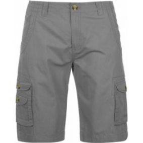 Lee Cooper Bright Cargo Shorts pánské Grey