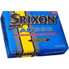 Srixon AD333 12 pack Golf Ball Yellow