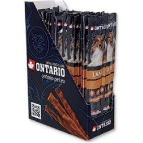 ONTARIO Display tyčinka for dogs lamb 12g 50ks