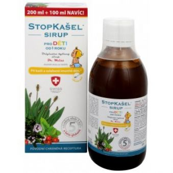 Simply You StopKašel sirup dr. Weiss pre deti 200