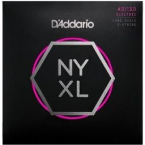 D´Addario Set Long Scale Regular Light 5-String