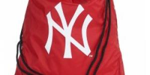 New Era MLB New York yankees gym sack red white