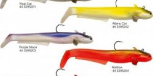 Black Cat Baby Cat Shad 50g 18cm 2ks rainbow