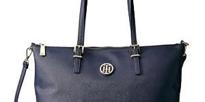 Tommy Hilfiger Elegantná kabelka Honey Tote Blue