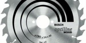 Bosch Optiline Wood, 184 mm, otvor 30 mm, 36 zubov