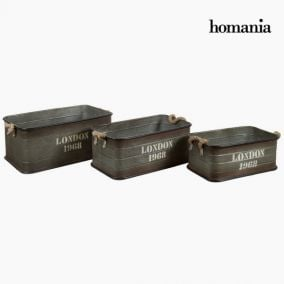 Set three baskets london by Homania