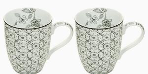 2 Piece Mug Set - Queen Kitchen Kolekcia by