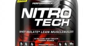 MUSCLETECH NITRO-TECH 4540 g