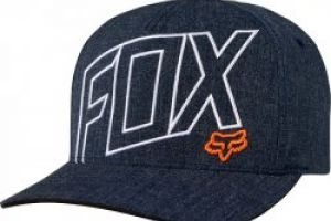 Fox Three 60 Flexfit Hat heather midnight