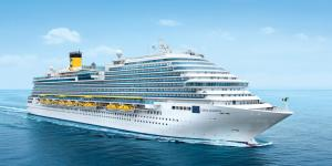 Letecky Plavba Costa Diadema s all inclusive: