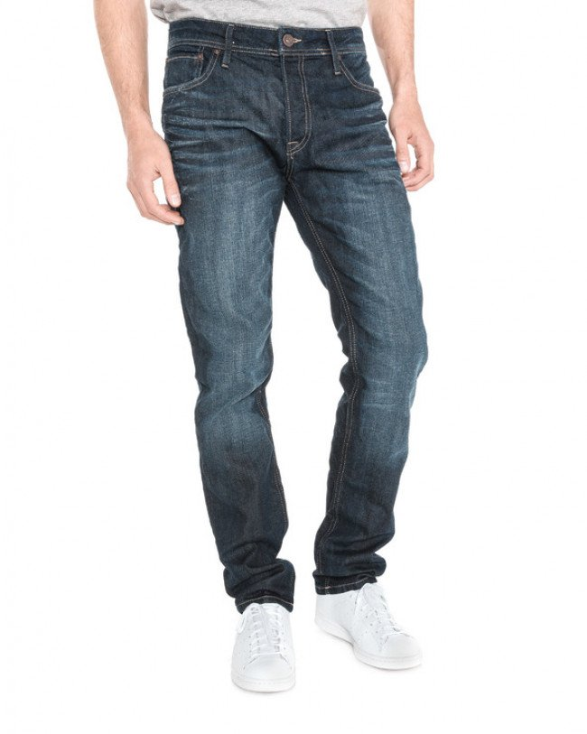 Jack & Jones Tim Jeans Modrá
