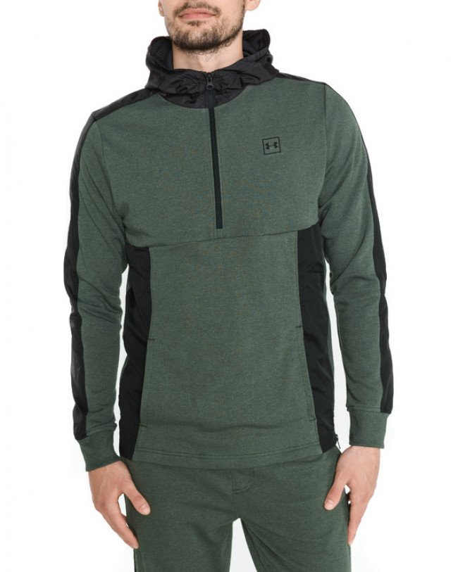 Under Armour Threadborne™ Terry Mikina Zelená