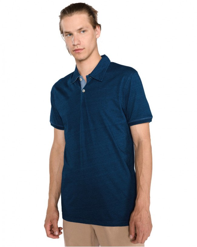 Jack & Jones Indigo Polo tričko Modrá