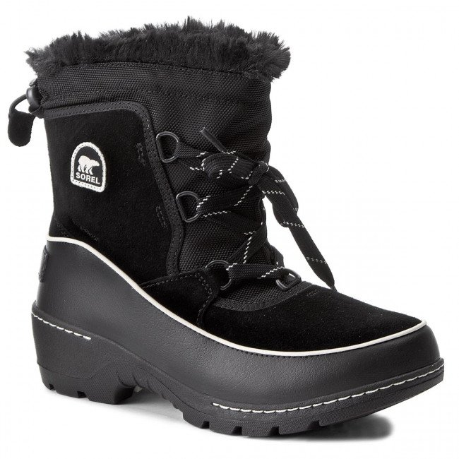 Snehule SOREL - Youth Torino III NY1892 Black/Light Bisque 010