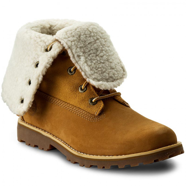 Outdoorová obuv TIMBERLAND -  6 In Wp Shearling Bo A156N/TB0A156N2311 Wheat