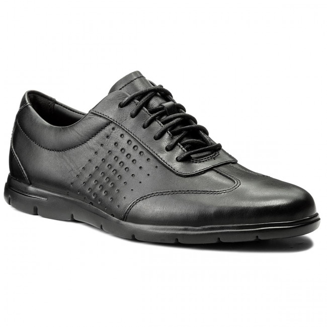 Poltopánky CLARKS - Vennor Vibe 261317427 Black Leather