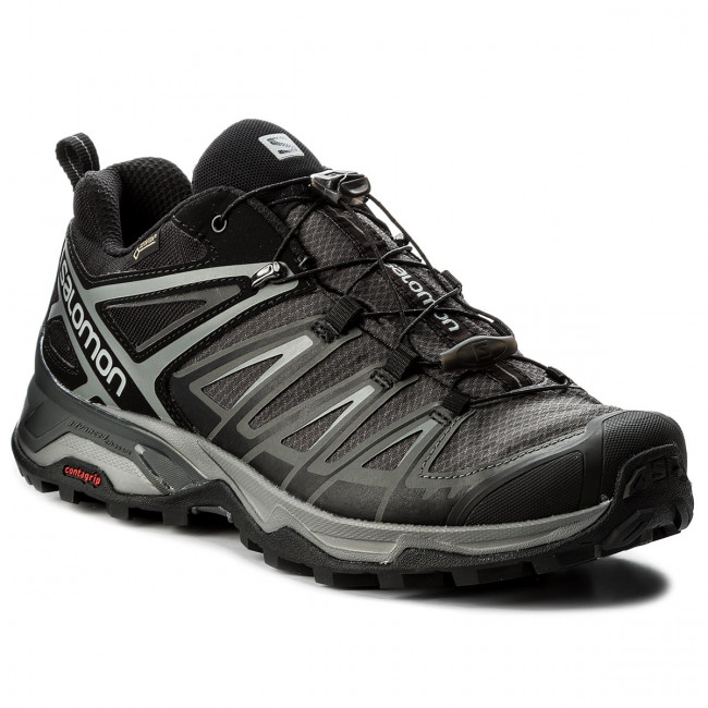 Trekingová obuv SALOMON - X Ultra 3 Gtx GORE-TEX 398672 29 W0 Black/Magnet/Quiet Shade