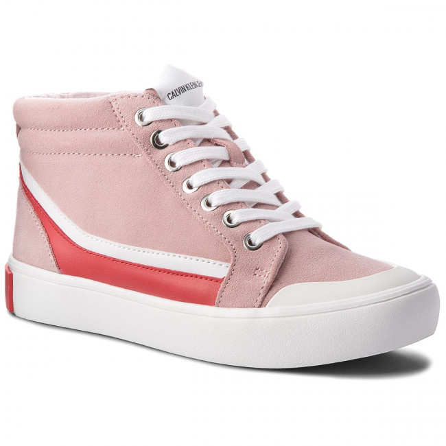 Sneakersy CALVIN KLEIN JEANS - Doris R0797 Chintz Rose/White/To