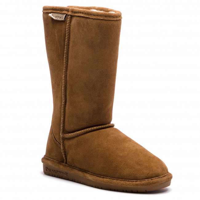 Topánky BEARPAW - Emma Tall Youth 618Y Hickory
