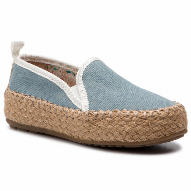 Espadrilky EMU AUSTRALIA - Gum Kids K11385 Light Denim